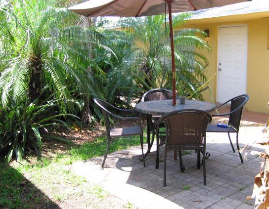 8 patio